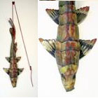 Bill Abright - Ceramic Fish - Bloodline