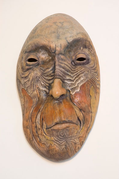 Bill Abright ceramic Mask- Knosey
